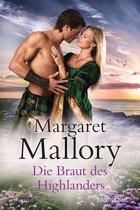 """Cover des Romans """"Die Braut des Highlanders"""" von Margaret Mallory"""