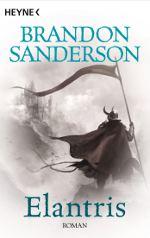 """Cover des Romans """"Elantris"""" von Sanderson"""