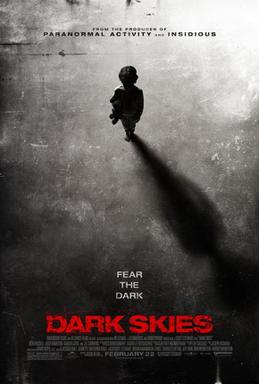 "Filmposter zu ""Dark Skies"", Science Fiction, Horrorfilme, Dimension Films"