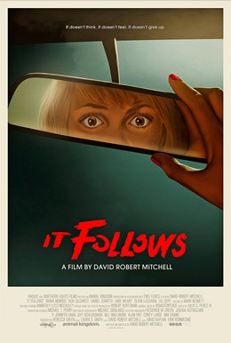 "Filmplakat zu ""It Follows"", Horrorfilme, Dimension Films"