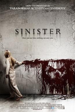 "Filmposter ""Sinister"", Horrorilme, Lionsgate"