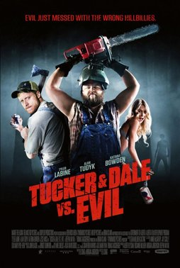 "Filmposter ""Tucker and Dale vs. Evil"", Horrofilme, Horrorkomäide, Magnet Releasing"